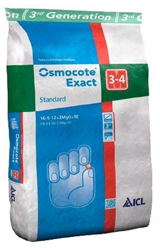 осмокот экзакт стандарт 3-4 м упаковка 25 кг